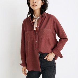 Madewell Flannel Sunday Shirt